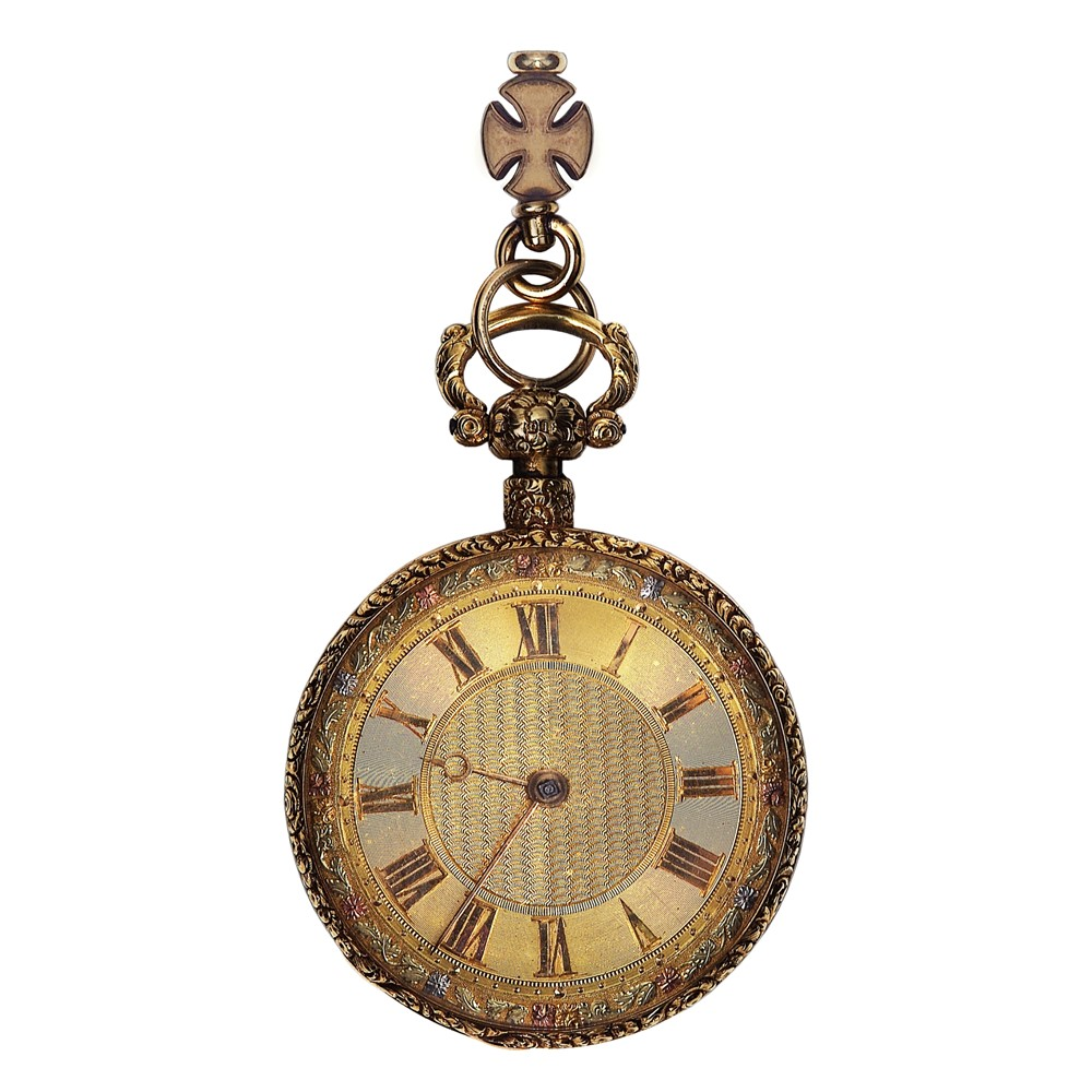 A GEORGE IV 18 CARAT GOLD QUARTER REPEATING POCKET WATCH Image 61a2ed8bd9
